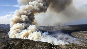 The Los Alamos fire in New Mexico earlier this year