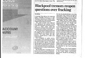 Fracking regulations under scrutiny by UK government
