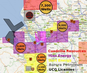 Fracking Threat In The North West