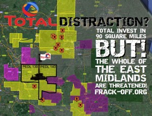 Fracking The East Midlands: Total Distraction