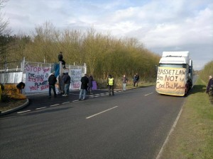 Latest News From Community Blockade At Daneshill, Nottinghamshire
