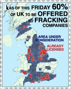 Frackers Close To Getting Their Hands On 60% Of UK