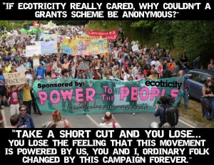 "GUEST BLOG: ""I am sorry Ecotricity, but shopping will not save the world"""