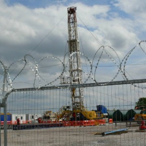 Fracking Yorkshire: Cuadrilla Rig On Rathlin Site