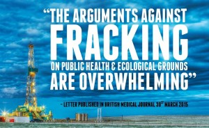 British Medical Professionals Condemn Fracking