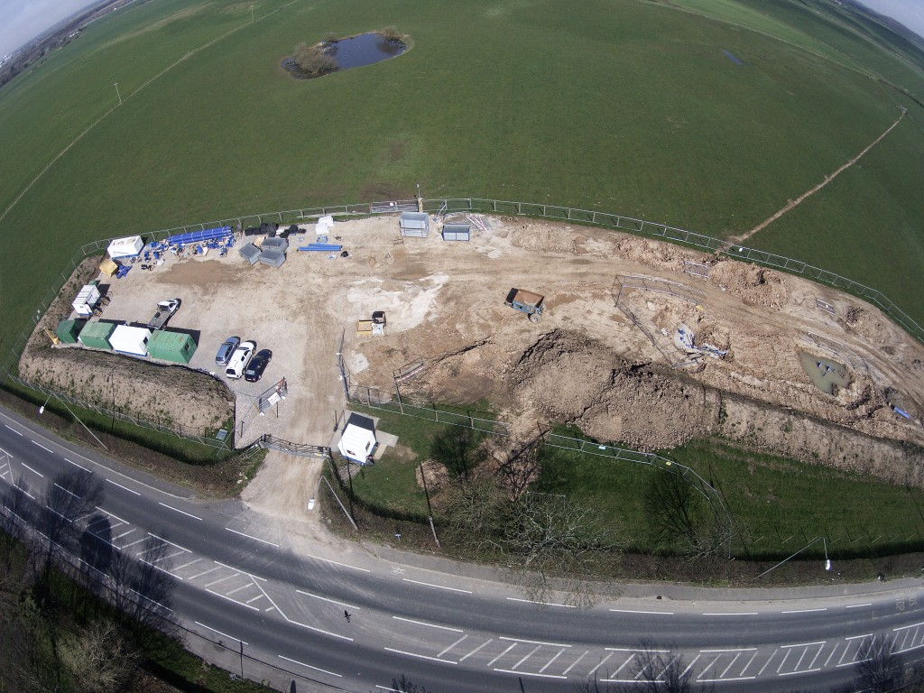 Works near Cuadrilla's proposed Preston New Road Fracking Site!