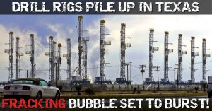 Drilling Rigs Go Into Storage, Oil Production Starts Falling As US Fracking Boom Turns To Bust