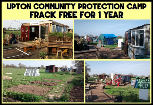 UPTON COMMUNITY PROTECTION CAMP - FRACK FREE FOR 1 YEAR!