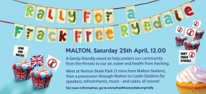 North Yorkshire Anti-Fracking Demo! - Malton Sat 25th April