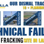Cuadrilla Lancashire Technical Failures & Planning Breaches