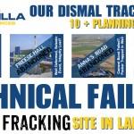 Cuadrilla Lancashire Technical Failures & Planning Breaches