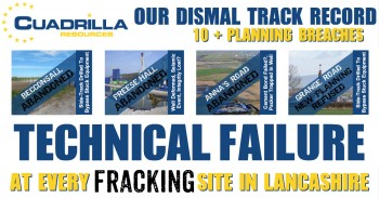 Cuadrilla Resources Planning Breaches & Technical Failures