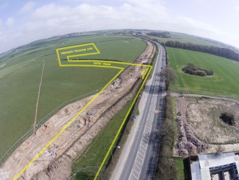 Pictures Reveal Scale of Preston New Road Pipeline Works