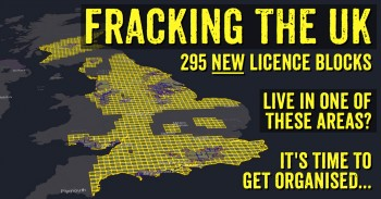 New UK Fracking Licence areas given away in August