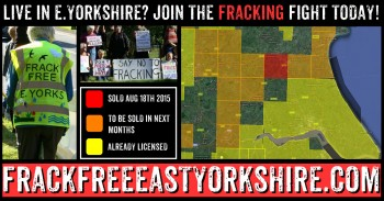 Live in East Yorkshire? Join the community fracking fightback today!