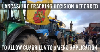 Decision On Lancashire Fracking Applications Deferred