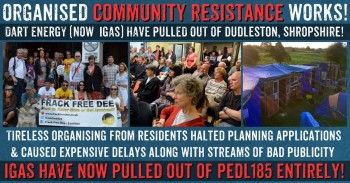 Community Victory Over Fracking Company