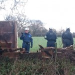 Bailiffs Trying To Evict Upton Community Camp At Upton