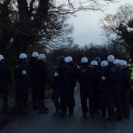 Bailiffs Massing Outside Upton Community Camp For Eviction Attempt