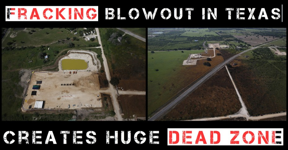 Image result for texas fracking blowout""