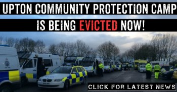 Upton Day 648 (Tues 12th Jan) Camp Eviction