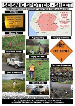 Seismic Spotter Sheet
