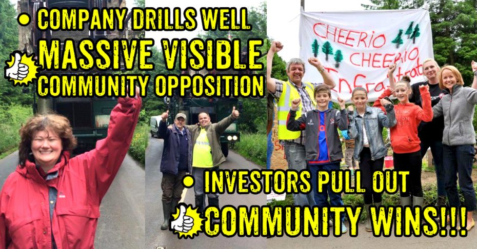 Community Win Woodburn Forest Infrastrata Investors Pull Out