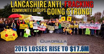 Community Fight Back Continues As Fracking Companies Squander Investors Cash