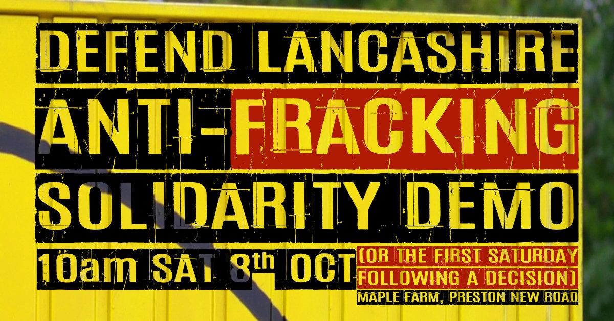 Defend Lancashire Event Meme