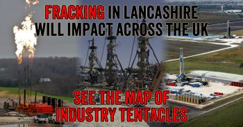 Communities from Great Yarmouth to Aberdeen Impacted by Lancashire Fracking Plans
