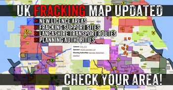 Communities Across The UK Threatened By Fracking - Together We Can Beat It!