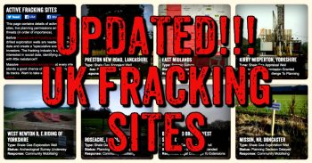 All UK Fracking Sites - Take Action Where You Live