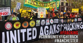 #CommunityFightBack #Manchester - Get Organised Where You Live To Fight #Fracking