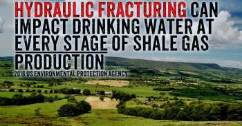 EPA Finally Confirms Fracking Risks To Drinking Water On An Unknown Scale