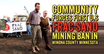 Huge Victory For Community Campaign - 80% Of Citizen Said Ban Frac Sand