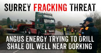 Brockham Shale Well: Fracking Trucks On Move In Surrey