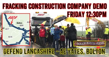 Stop Cuadrilla's Contractor From Carving Up Lancashire For Fracking