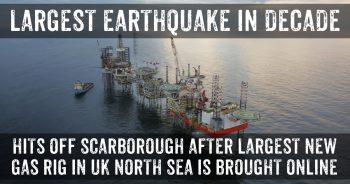 Large Earthquake Occurs Near Fracking Investor Engie's New Gas Platform