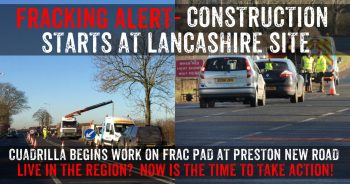 Cuadrilla Moves In On Planned Lancashire Fracking Site