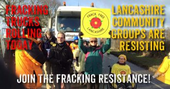 Resitance To Fracking Site Construction At Preston New Road Continues