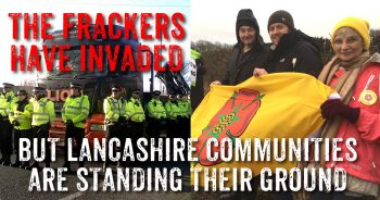 Fracking Trucks Rolling In Lancashire But Communities Are Fighting Back