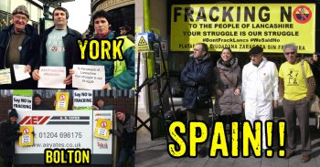Send Your Solidarity Messages To Lancashire Communities Fighting Fracking Today!!!
