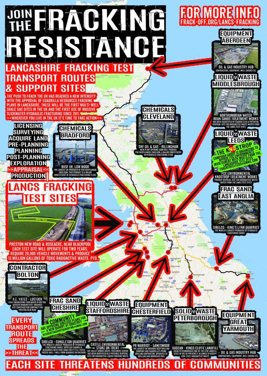 Lancashire Fracking Factsheet