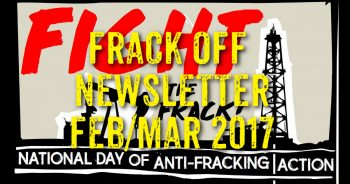 Frack Off Feb/Mar Newsletter: National Day Of Action, Lancashire & More