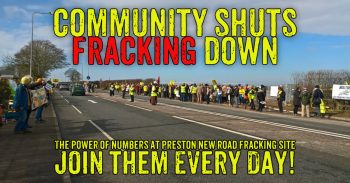 Swap Work For Work Wednesday Shuts Cuadrilla Fracking Site Down
