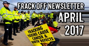 Frack Off April Newsletter: Fighting Fracking On Multiple Fronts
