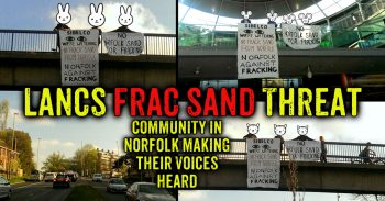 Awareness Raising - Visible Opposition - A Diversity Of Tactics - Beating Fracking!!!