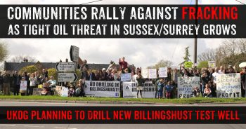 Communities Respond To Growing Fracking Threat In The Weald