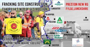 Cuadrilla's Fracking Web Of Destruction: Site Construction Companies