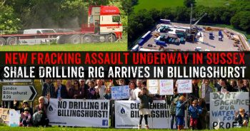 Fracking Company Drilling For Kimmeridge Shale Oil In Billingshurst